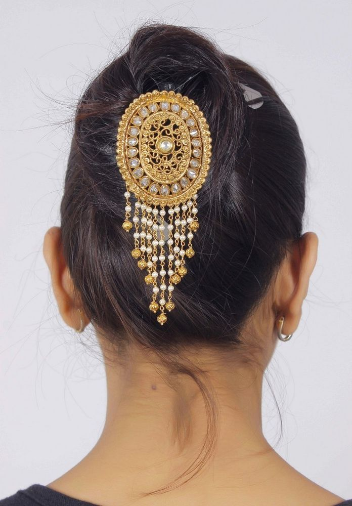 Best 25+ Indian bridal hair ideas on Pinterest | Indian ...