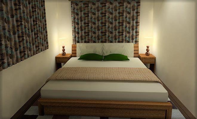 これしかない 6畳寝室にダブルベットをレイアウトする3つの方法 寝室のインテリアコーディネート 寝室 レイアウト 寝室 ダブルベット