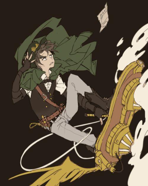 Osomatsu-san- Choromatsu #Anime「♡」Steampunk