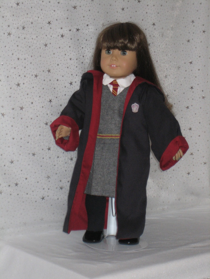 Hermione's or Ginny's Harry Potter outfit by CarmelinaCreations, $95.00