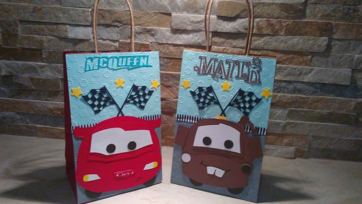 MC Queen Cars goody bags set of 12 / Disney Cars Goody Bags by mariscraftingparty on Etsy