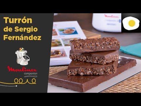 Turrón de chocolate de Sergio Fernández   Recetas con Moulinex Cuisine C...