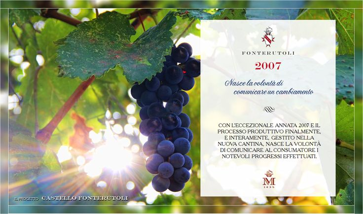 Il processo trova finalmente la sua conclusione. Castello di Fonterutoli è finalmente pronto. #fonterutoli #marchesimazzei #wine