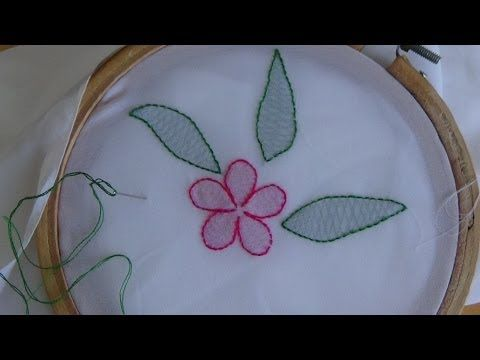 Hand Embroider a Greeting Card: Learn with Me Series - YouTube