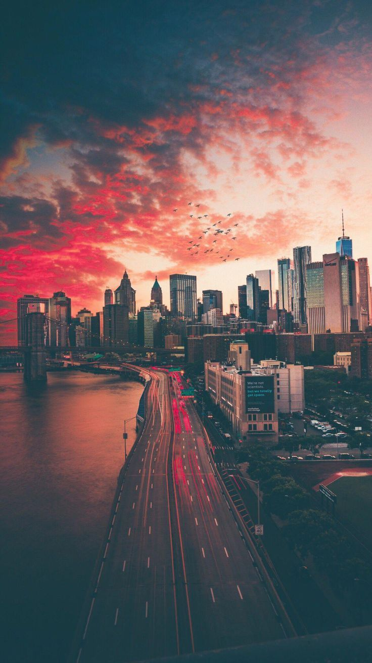 Iphone Wallpapers Landscape In 2020 City Wallpaper Iphone Wallpaper Landscape City Aesthetic