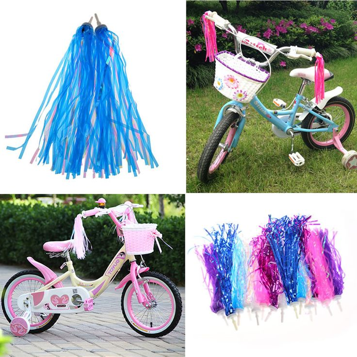 Cheap cycling bike bicycle, Buy Quality bike bicycle directly from China cycling bike Suppliers: 2pcs Cycling Bike Bicycle Tricycle Kids Girls Boys Handlebar Streamers Tassels