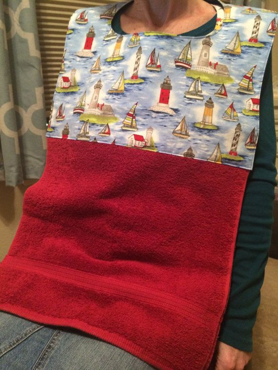 Ol Sailor Adult Bib Clothing Protector By
