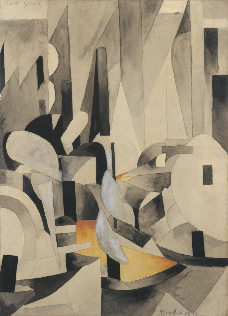 Francis Picabia, New York (400-600k GBP) 866k GBP