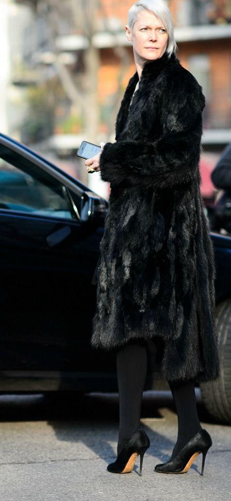 Kate Lanphear at Milan Men's Fashion Week Fall 2015