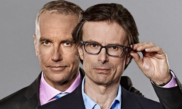 Eddie Mair and Robert Peston, BBC Radio 4