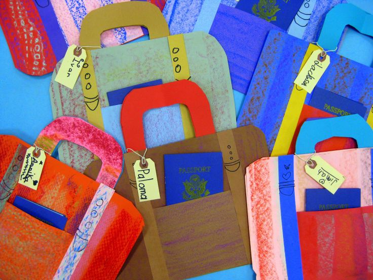 Images Of Printable Suitcases For Arts And Crafts For Preschoolers