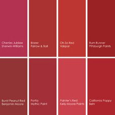 Shades Of Red 8 best colour decor images on pinterest   color trends, bathroom
