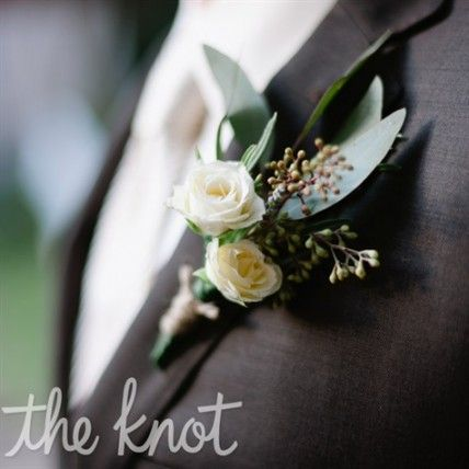 Australian Native Wedding Flowers Rose and Herb Boutonniere – The Knot