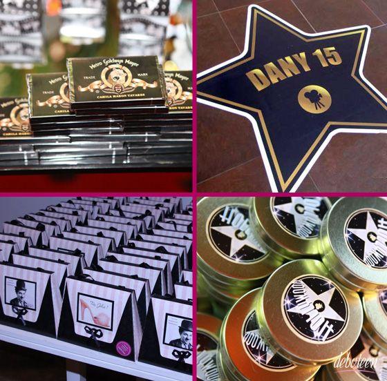 Festa Hollywood - Debuteen - O Blog da Debutante