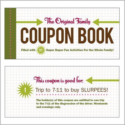 diy coupon book ideas