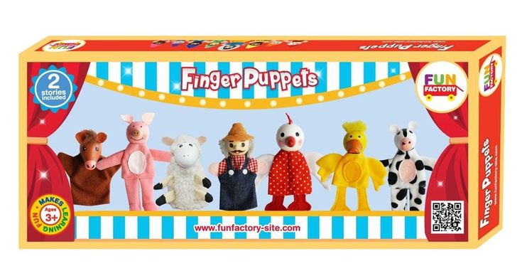 Old MacDonald and Farm finger puppets - there's no better toy than imagination #EntropyWishList #PinToWin