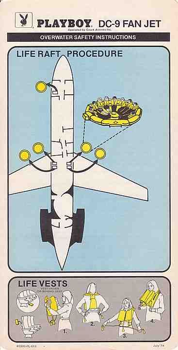 Playboy. DC-9 FAN JET
