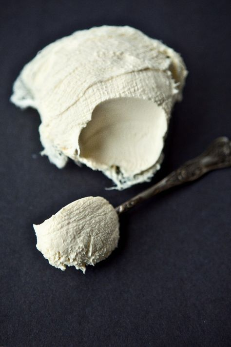 Homemade Mascarpone Cheese (Probably the simplest homemade cheese to make ~ you can always add herbs to it as well.)