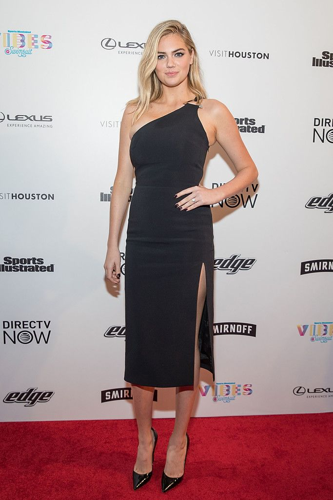 SI Swimsuit cover model Kate Upton attends the VIBES by Sports Illustrated Swimsuit 2017 launch festival on February 18, 2017 in Houston, Texas.
