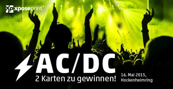 Druck or Bust! – Online drucken lassen und 2 AC/DC-Tickets gewinnen