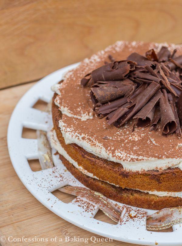 queen elizabeth chocolate curls tiramisu cake queens cupcake recipes ...