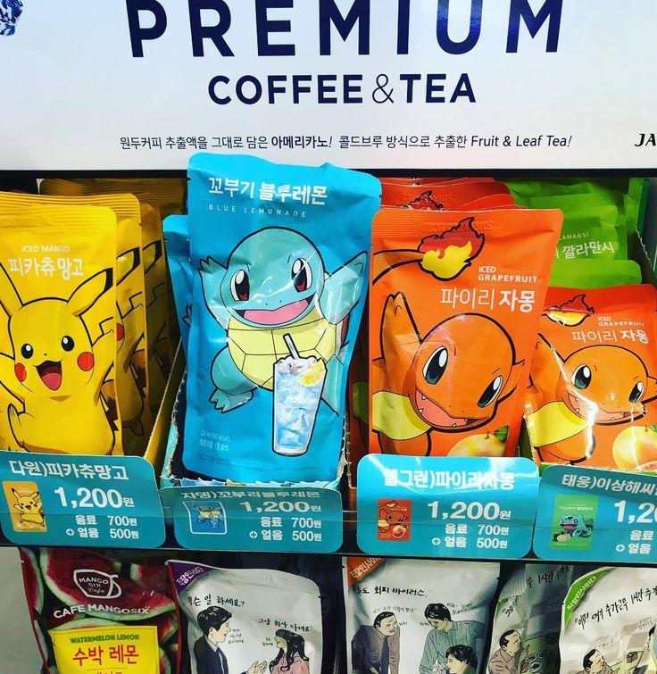 Złap je wszystkie! #gottacatchemall #pokemon #store #7eleven #seoul #travel #korea #asia #icetea @tokarzewska #myeongdong