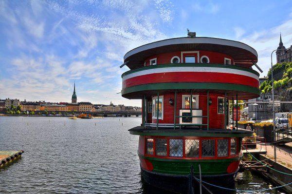 The Red Boat, ostello-barca con vista mozzafiato su #Stoccolma