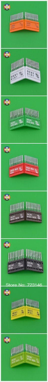 Бросился 100 много промышленные швейные машины оверлок иглы Dcx1 Dc * 1 Dc1 для Juki типичный для Brother Janome Siroba Kancai