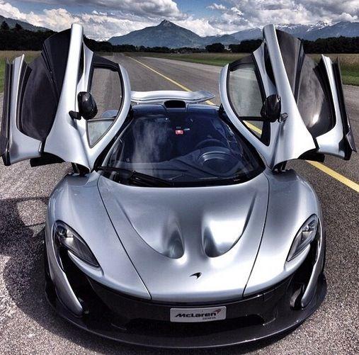 Perfect McLaren P1.