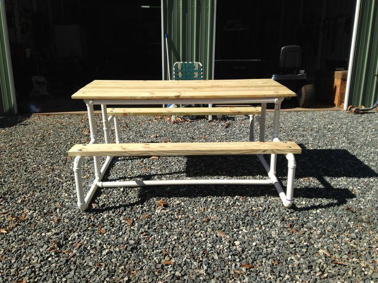 Pvc Bench Picnic Table
