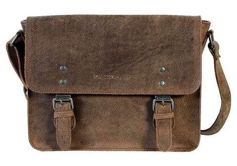 Troop Apache Small Leather Satchel Bag