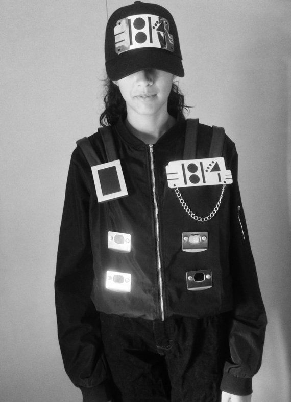 Janet Jackson Rhythm Nation Video Costume 1814 / 80's by NKCosplay