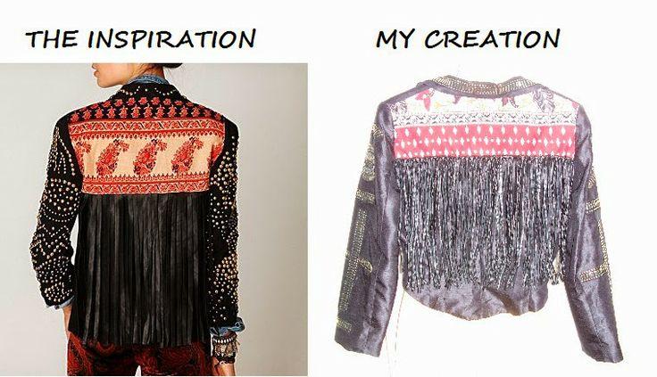 My embellished jacket
