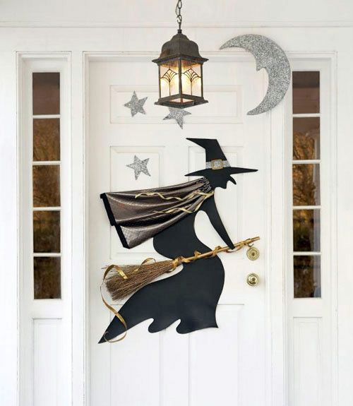 Front door witch Just a Girl Blog