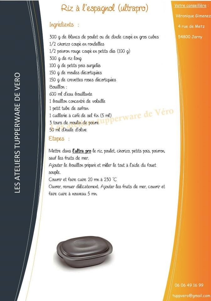Riz à l'espagnol recette ultra pro https://www.facebook.com/Les-ateliers-tupperware-de-V%C3%A9ro-426295820791943/timeline/