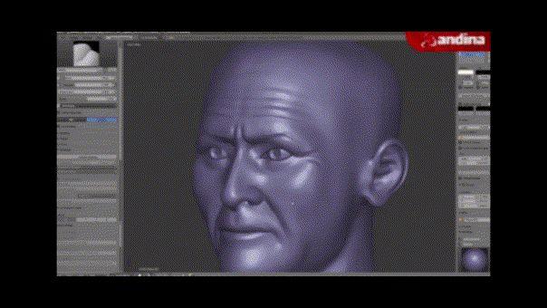 Señor de Sipán: expertos recrean en imagen 3D de su rostro 1750 años después