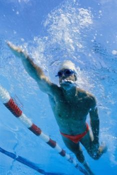 Swimming Workouts for Abs.