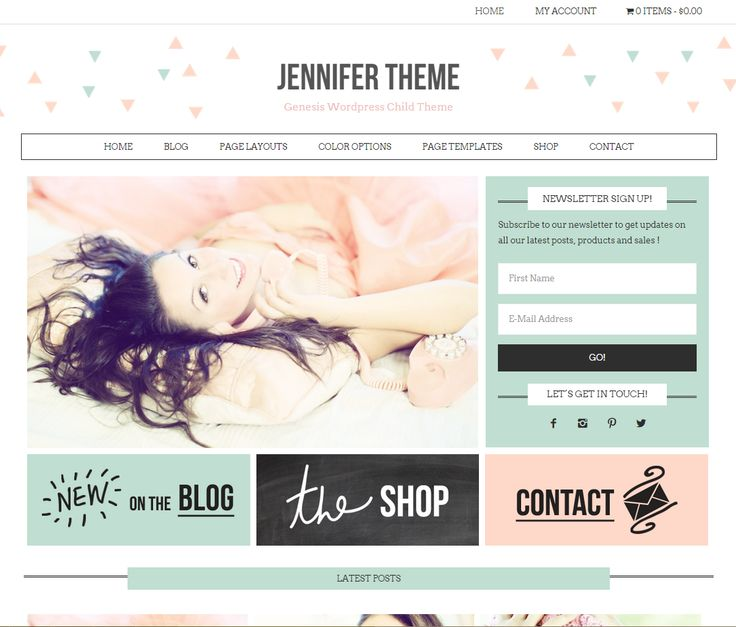 ¿Are you looking for an Ecommerce Worpress Theme beautiful, feminine, modern and multifunctional? Use it as a website, ecommerce or a blog, or a combination. You will receive: FREE Genesis Framew...