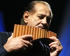 Zamfir - the living God of the pan flute.
