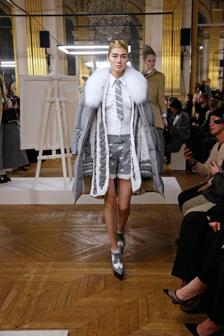 The complete Thom Browne Fall 2018 Ready-to-Wear fashion show now on Vogue Runway.