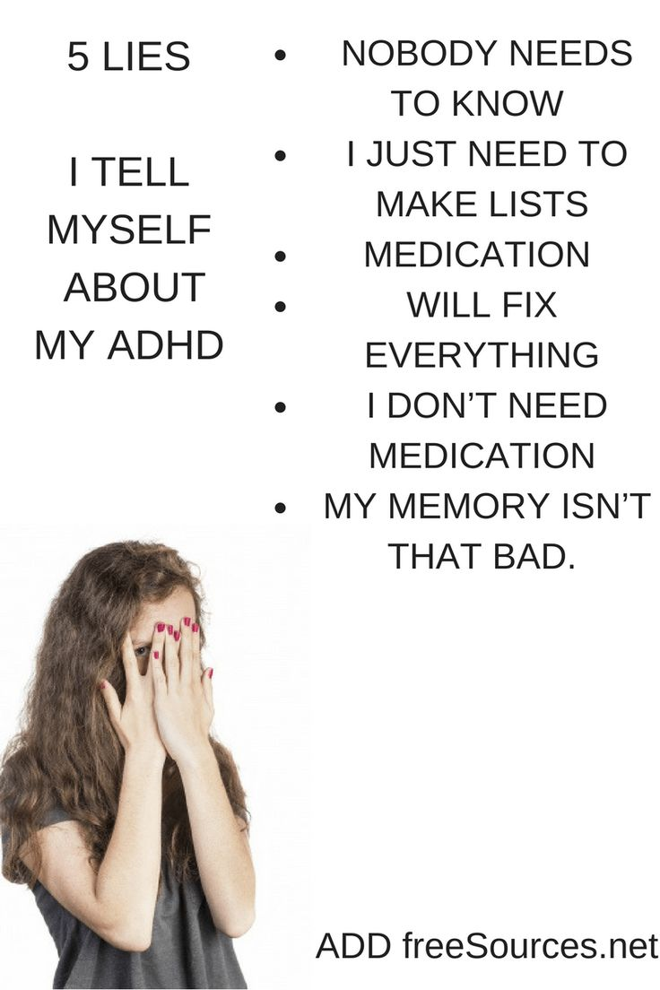 I started to be real about my ADHD. I needed help.