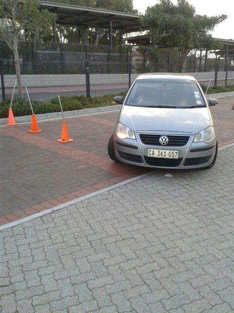 #practising #parking