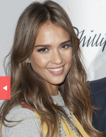 Jessica Alba dark ash brown