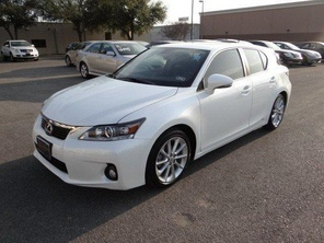 2012 Lexus CT 200h Premium  Used Lexus For Sale Austin, TX - CarGurus  Dealer's Price: ---  Mileage:0 miles  Transmission:Continuously Variable Transmission  Exterior Color:White  Interior Color:Black  Certified:Yes  Gas Mileage:43 MPG City  40 MPG Highway  Engine:I4 Hybrid  Seller:Dealer  VIN:JTHKD5BHXC2103494  Major Options: Preferred Accessory Package, Leather Seats, Navigation System, Premium Audio Package