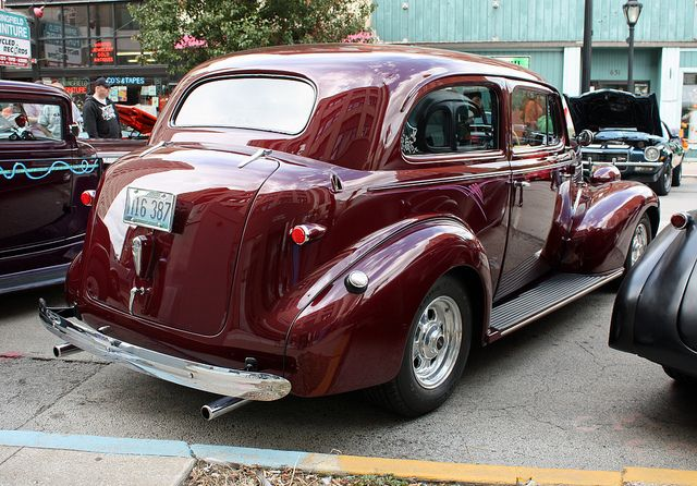 1939 Chevrolet Master Deluxe 2 Door Town Sedan 4 Of 4