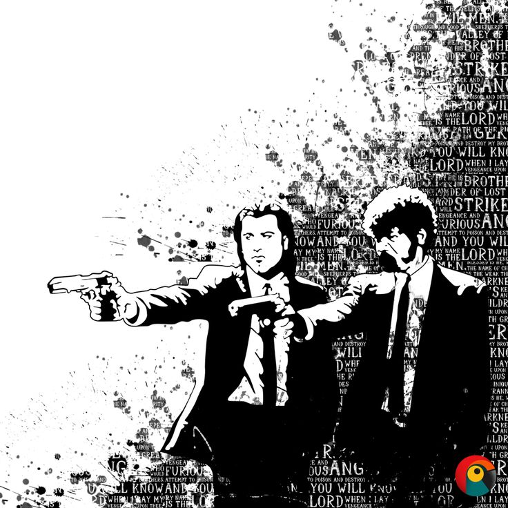 Pulp Fiction Illustration Done By: Pixel Parrot http://www.pixelparrot.co.za/