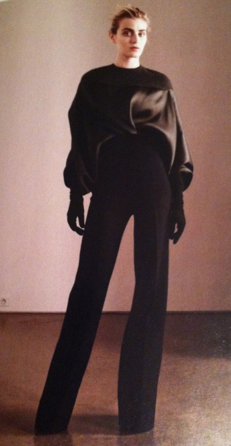 Haider Ackermann ensemble for Nordstrom advertisement on Vogue USA Sept.'12