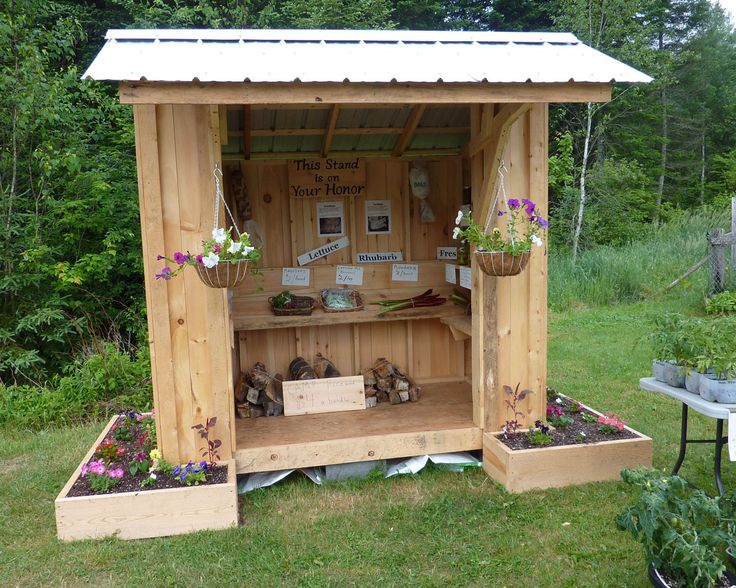 Roadside Stand Designs : Best ideas about farm stand on pinterest country