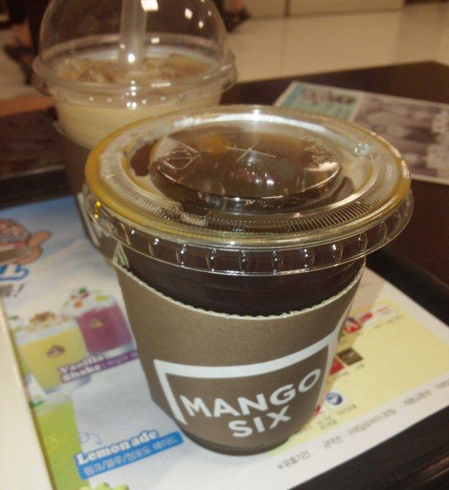 Mango Six Coffee Korea - Black Coffee