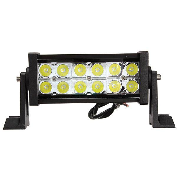 2 X HIGH POWER 12V 24V LED WORK LAMP FLOOD LIGHT TRUCK CAR 4X4 TRAILER VAN